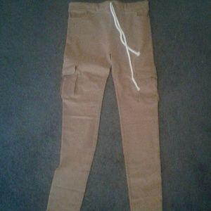 Pants - Khaki brown stretch cargo Juniors pants